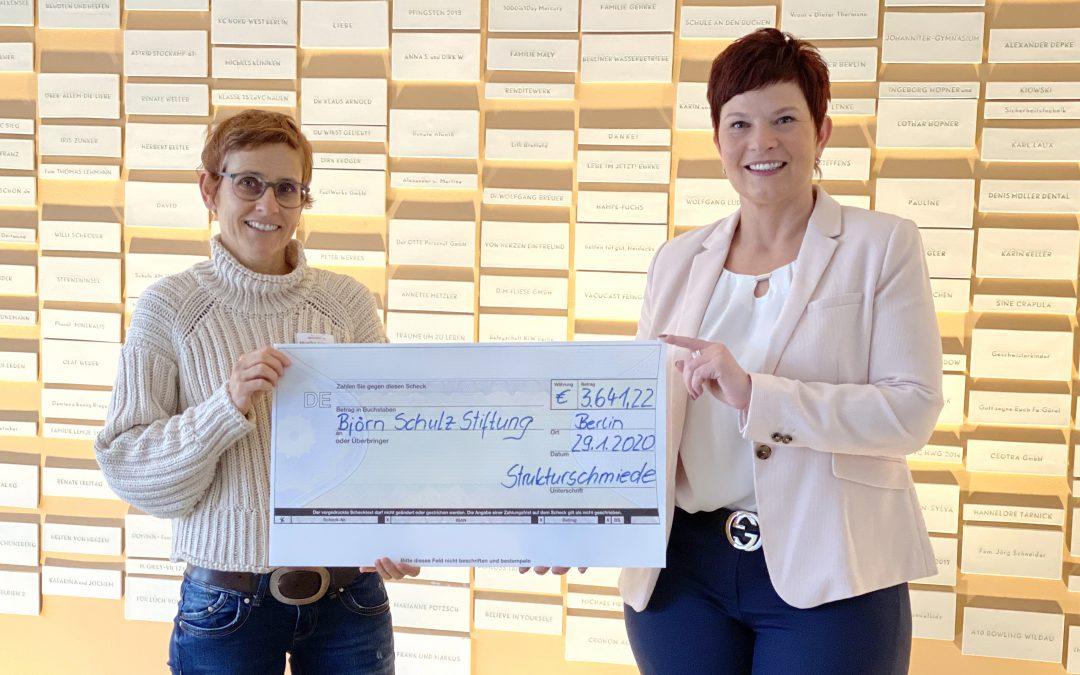 3.641,22 Euro für die Björn Schulz Stiftung